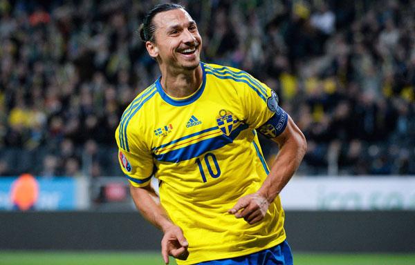 Ибра капитан сборной Швеции - фото