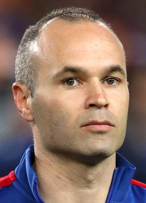 А. Иньеста - футболист, фото и биография
