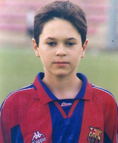 Андрес Иньеста в детстве - фото