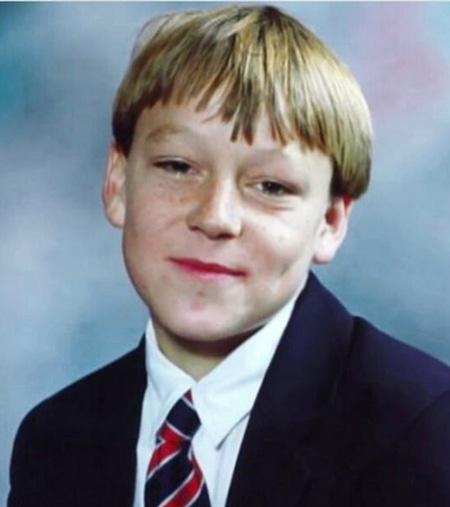 Четырнадцатилетний Джон Терри - фото