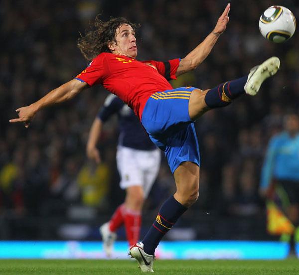 Karles Pujol в сборной Испании
