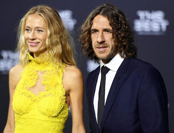 Карлес со своей женой Ванессой совместное фото