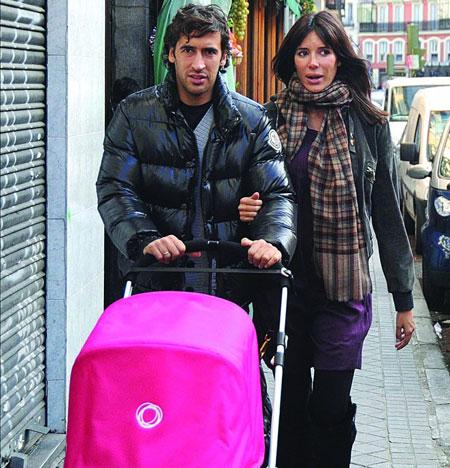 Рауль и жена Мамен совместное фото