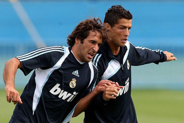 Рауль и Роналду совместное фото