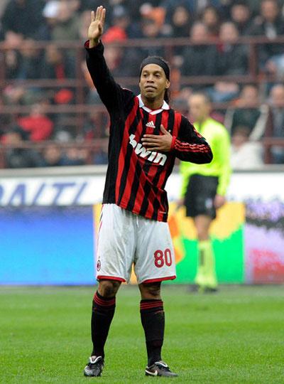 Милан в сердце Роналдиньо
