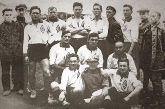Dinamo Kiev в 1928 году - фото на startfootball.info