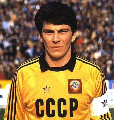 Вратарь Спартак-Москва Ринат Дасаев - фото на startfootball.info
