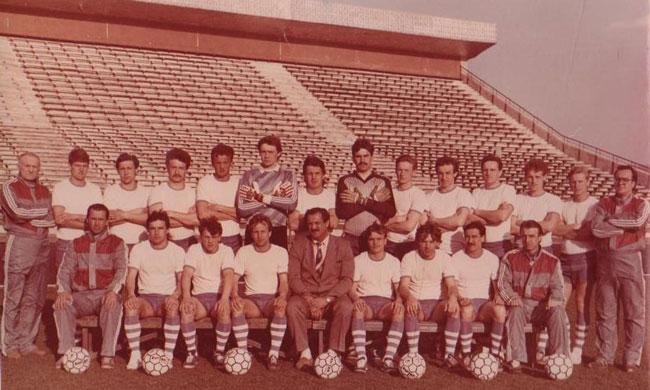 Desna Chernigov - футбольный клуб в 1990 году фото на startfootball.info