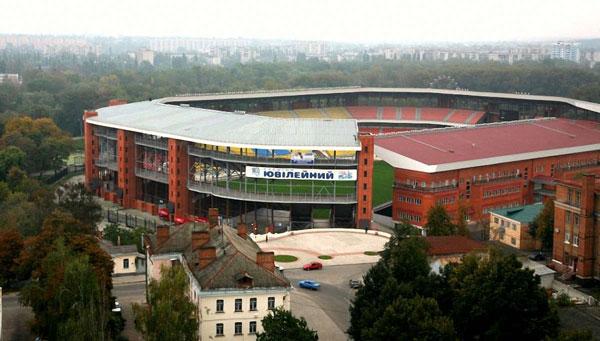 Вид на Юбилейный с улицы - фото на startfootball.info