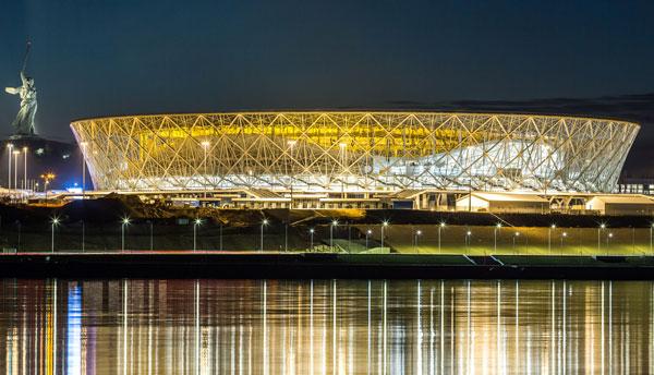 Стадион Волгоград Арена. Строительство и чемпионат 2018 года - на startfootball.info