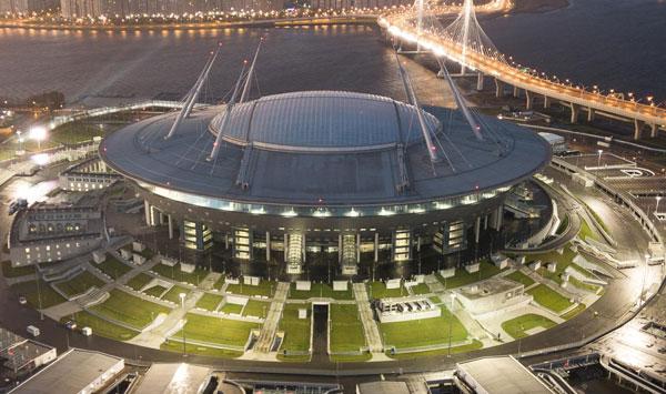 Стадион Газпром Арена (Зенит Арена) - история строительства - на startfootball.info