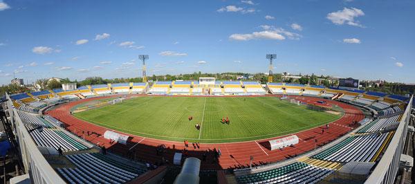 Стадион Авангард Луганск - история луганской арены - на startfootball.info