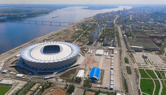 Волгоград Арена с воздуха - фото на startfootball.info