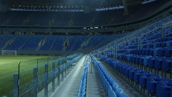 Трибуны Газпром Арены - фото на startfootball.info