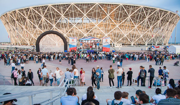 Волгоград Арена, Чемпионат мира 2018 - фото на startfootball.info