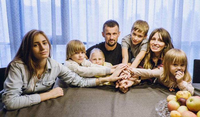 Сергей Семак и семья - фото на startfootball.info