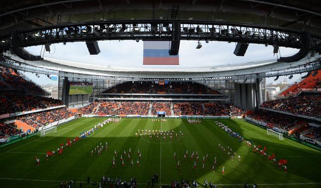 ЧМ-2018 на Екатеринбург арена - фото на startfootball.info