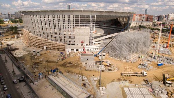 Реконструкция Екатеринбург арены - фото на startfootball.info