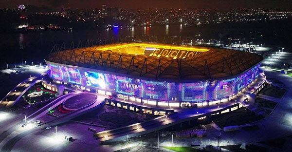 Стадион Ростов Арена - история строительства и фото на startfootball.info