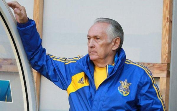 М. Фоменко, тренер Динамо - фото на startfootball.info