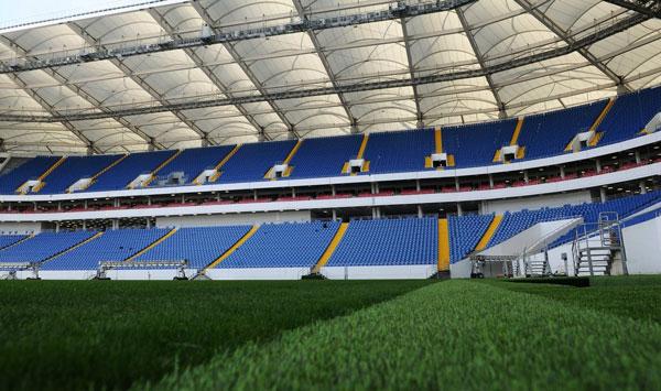 Поле на Ростов Арена - фото на startfootball.info