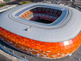 Мордовия Арена Саранск - история строительства, фото на startfootball.info