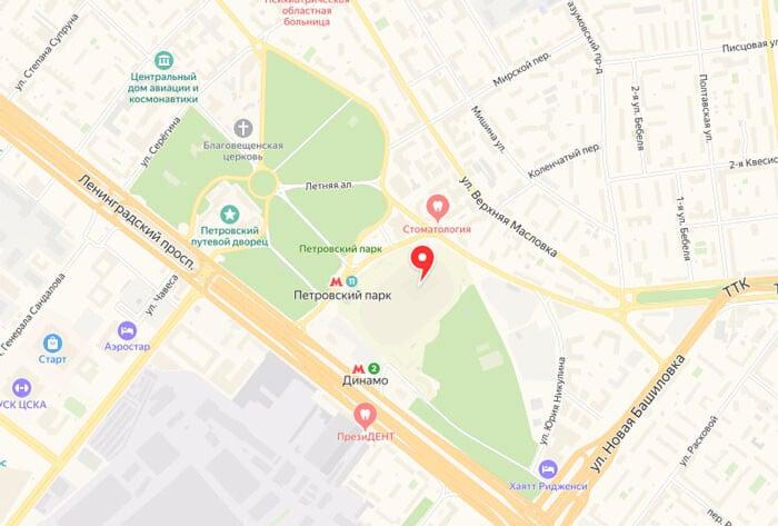 Адрес ВТБ Арены и как добраться - фото на startfootball.info