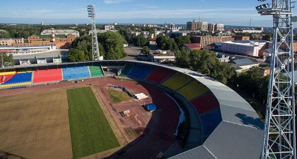 Реконструкция арены - фотография на startfootball.info