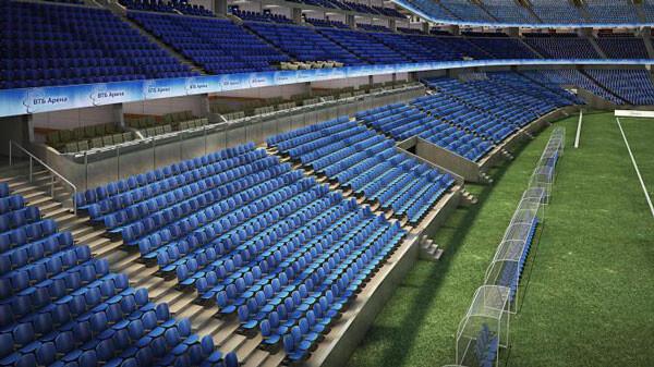 Трибуны на стадионе Динамо - фото