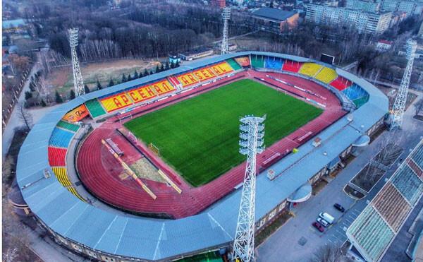 Тула стадион с высоты - фото на startfootball.info