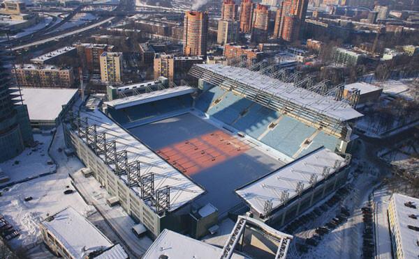 Арена Химки зимой - фото на startfootball.info