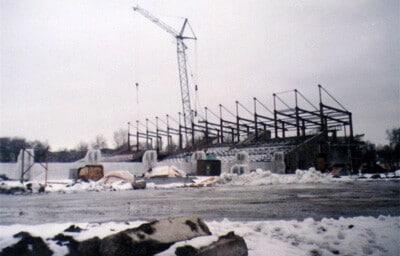 Арена-Славутич в стадии реконструкции - фотография на startfootball.info