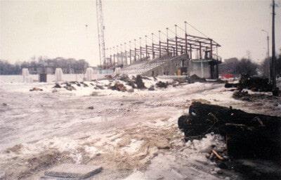 Реконструкция арены в Запорожье - фото на startfootball.info