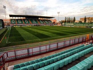 Стадион Оболонь-Арена в Киеве - фото на startfootball.info