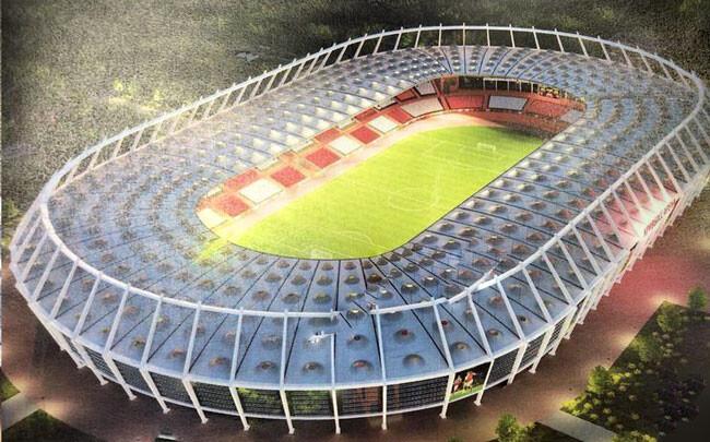 Проект новой арены Металлург в Кривом Роге