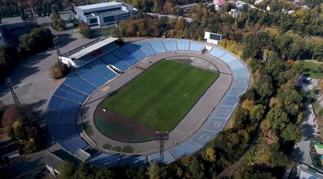 Стадион Метеор Днепр - история строительства, фото на startfootball.info
