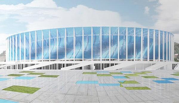 Дизайн-проект арены.