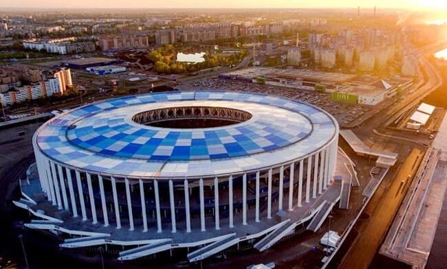 Дизайн арены в окончательном варианте.