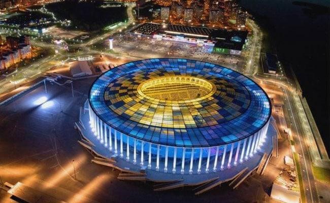 Стадион «НН» ночью.