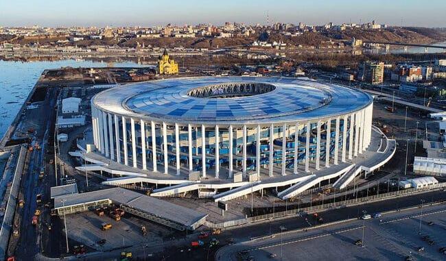 Стадион Нижний Новгород - история и фото на startfootball.info